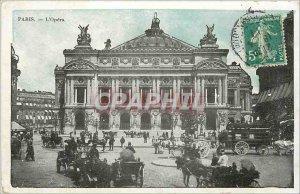 Old Postcard PARIS-The Opera