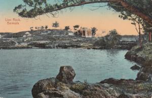 BERMUDA, 1912 ; Lion Rock