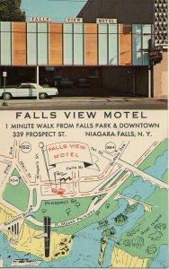 Map Postcard Vermont  PC11 1
