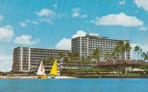 The 800 Room Reef Hotel Is Situated on The Beach At Waikiki Hawaii