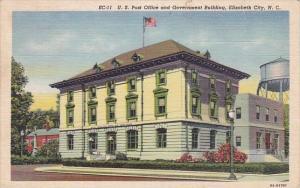 North Carolina Elizabeth City U S Post Office And Government Building 1952