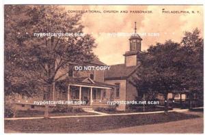 Congregational Church & Parsonage, Philadelphia NY