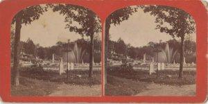 SV ; BROOKLYN , New York City , 1880s ; General View in Mt. Auburn