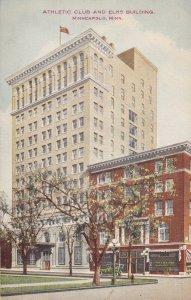MINNEAPOLIS, Minnesota, 1900-1910's; Athletic Club And Elks Building