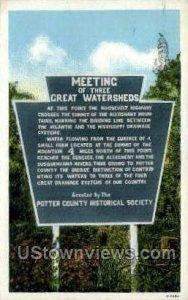 Meeting Threet Great Watersheds - Misc, Pennsylvania