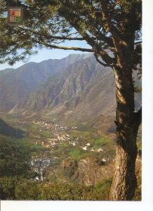 Postal 048756 : Valls dAndorra. Vista general de les Escaldes i Andorra la Vella