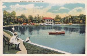 O Fallon Park Saint Louis Missouri 1920