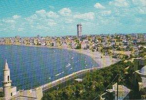 "POSTAL B03334: Tel-Aviv seen from Ancient Jaffa at the Centre ""Shalom Mayer..."