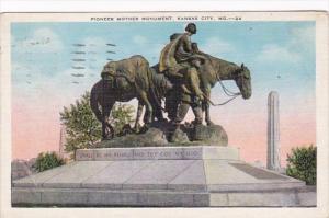 Missouri Kansas City Pioneer Mother Monument 1937