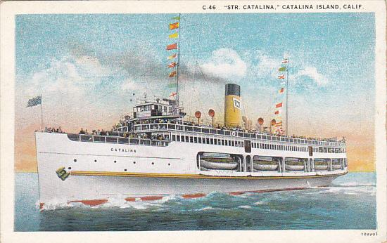 Steamer Catalina Catalina Island California