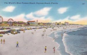 Florida Daytona Beach The World's Most Famous Beach 1957