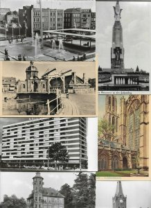 Netherlands - Arnhem Leiden Breda Heerde Postcard Lot of 50  01.09