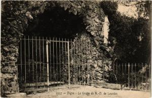 CPA Digne La Grotte de N.-D.de Lourdes (683527)