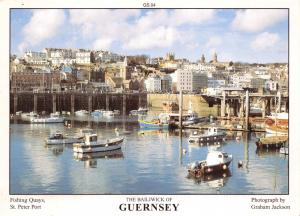 Guernsey Postcard Fishing Quays, St Peter Port C.I by D.R Photography P47