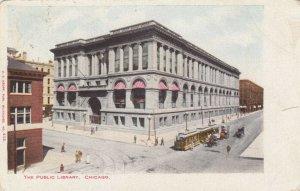 CHICAGO, Illinois, 1905; The Public Library