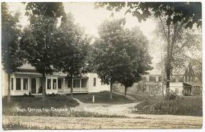 North Chesterville ME  Post Office Carding Mill RPPC Real Photo Postcard