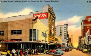 FL - Tampa. Franklin Street looking South