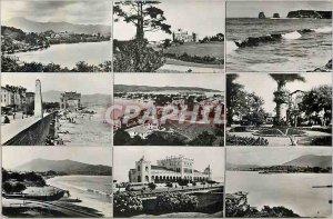 Modern Postcard Souvenir of La Cote Basque Hendaye