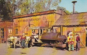 Locomotive Old Betsy Knott's Berry Farm & Ghost Town Buena Park California