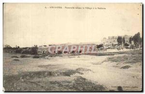 Old Postcard Ain Sefra Reliant Gateway Village has Redoubt