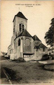 CPA Ussy-sur-MARNE - L'Église (292647)