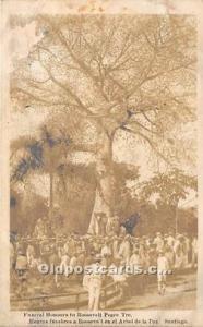 Funeral Honours tu Roosevelt Peace Tre Unused