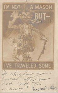 RP: Hobo ; I'm not a Mason But- I've Traveled Some! , 1907
