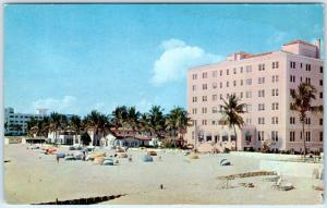 MIAMI BEACH, Florida FL   GULF STREAM HOTEL APARTMENTS  ca 1950s   Postcard