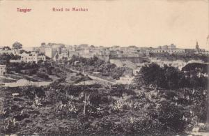 Tanger , Morocco, 00-10s ; Road to Mashan