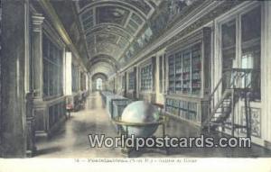 Fontainebleau, France, Carte, Postcard Galerie de Diane Fontainebleau Galerie...