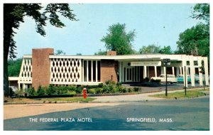 Massachusetts Springfield , The Federal Plaza Motel