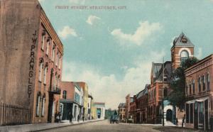 STRATHROY , Ontario , Canada, 1911 ; Front Street