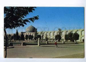 193042 IRAN ISFAHAN OLD AIRMAIL RPPC w/ stamps 1958 Pahlewi
