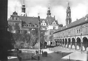 Dresden Ehemaliges Residenzschloss, Blick auf Kanzleihaus Georgentor Galerie