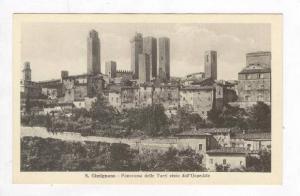 Panorama Delle Torri Visto Dall'Ospedale, San Gimignano (Siena), Tuscany, Ita...
