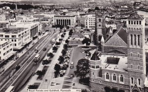 RP; PLYMOUTH, Devon, England, 1930s; Royal Parade And Guildhall