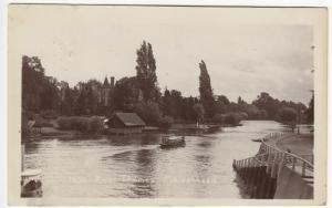 Berkshire; River Thames, Maidenhead 1690 RP PPC, 1905 PMK, Note Steamboat