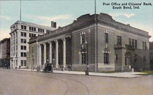 Post Office And Citizens Bank South Bend Indiana