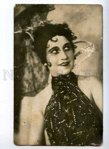 243596 BOLDYREVA Russian OPERETTA Singer AUTOGRAPH 1931 PHOTO