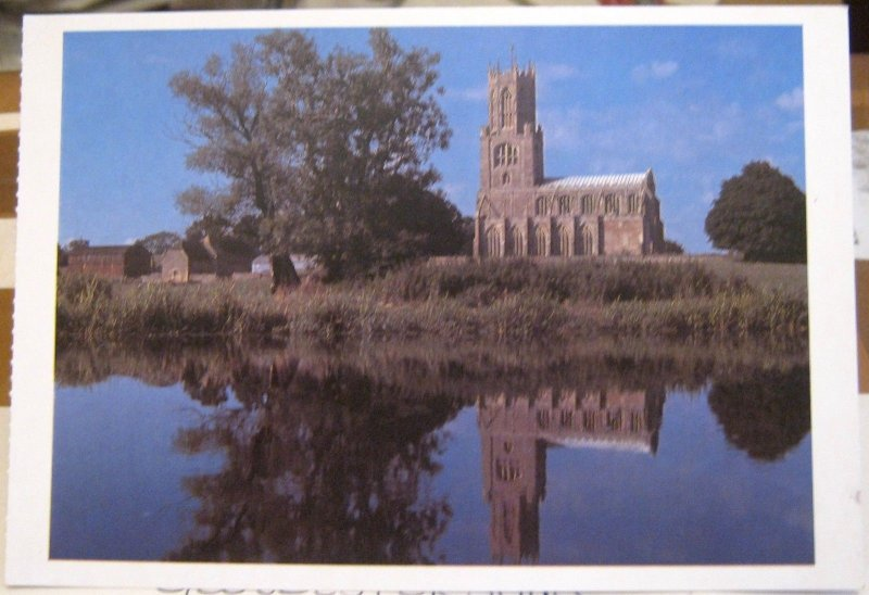 England St Mary and All Saints Fotheringhay Northamptonshire - unposted