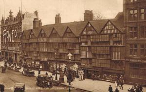 UK London Old Staple Inn Holborn 02.17