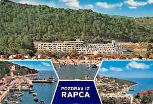 Croatia Pozdrav iz Rapca, Rabac, multiviews boats plage beach souvenir