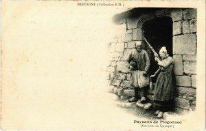 CPA Paysans de Plogonnec - Environs de Quimper - Folklore (1033611)