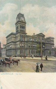 LOUISVILLE, Kentucky, 1901-07; City Hall, TUCK No. 1036