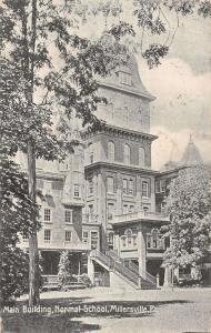Millersville Pennsylvania main building Normal School antique pc Y14921