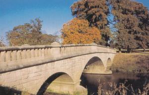 Knaresborough Ribston Park Bridge Over River Large Postcard
