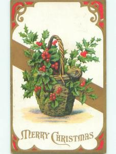 Divided-Back CHRISTMAS SCENE Great Postcard AA0176