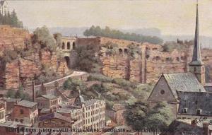 TUCK #737; LUXEMBOURG, 1900-10s; Le Bock Et La Ville-Basse Du Grund