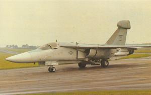 LE Postcard General Dynamics EF111A Raven No.66 Electronic Cambat Wing NT214