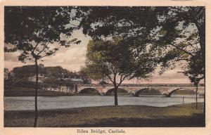 Eden Bridge, Carlisle, England, Great Britain, Early Postcard, Unused